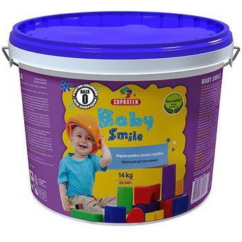 Supraten Краска для детских комнат Baby Smile B-0 14кг