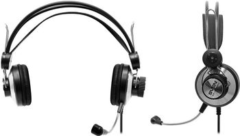 SVEN AP-610MV, Headphones with microphone, Volume control on the left headphone, SVEN PNC passive noise cancelling system, 2.2m, Black