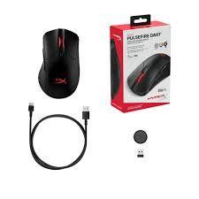 Беспроводная игровая мышь HyperX Pulsefire Dart, оптическая, 800-16000 dpi, 6 кнопок, двусторонняя, RGB, 130 г