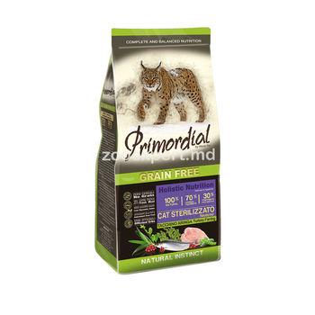 Primordial Holistic Cat Sterilizzato 1 kg ( la cîntar )