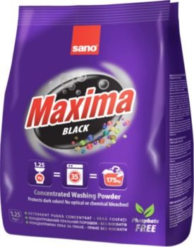 Стиральный порошок Sano Maxima Black 1.25 кг