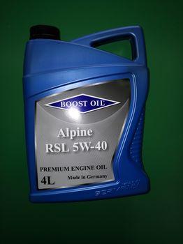 купить Моторное масло Boost Oil RSL 5W-40 - 5 л в Кишинёве