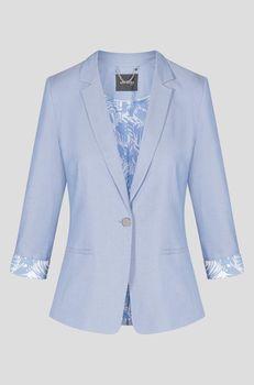 Пиджак ORSAY Синий 480247