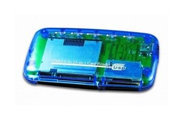 Card Reader  All-in-1 Gembird FD2-ALLIN1, Supports CF, MD, SM, MS, SD, MMC and XD Card