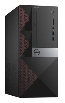 DELL Vostro 3668 MT InteI® Core® i5-7400 (Quad Core, up to 3.5GHz, 6MB), 8Gb DDR4 RAM, 256Gb SSD, DVDRW, Intel® HD 630 Graphics, Wi-Fi/BT4.0, 240W PSU, USB Mouse&Keyboard, Ubuntu 16.04, Black