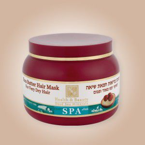 купить Health & Beauty Маска для волос на основе масла Ши (250ml) 44.305 в Кишинёве
