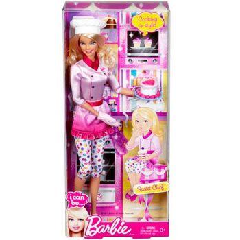 """Барби кукла """"Повар"""""""
