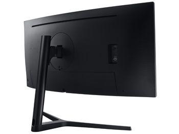 """купить 34.0"""" SAMSUNG """"C34H890WJ"""", Black (VA-Curved, FreeSync 100Hz, 2560x1440, 4ms,300cd,Mega DCR, DP+HDMI) в Кишинёве"""
