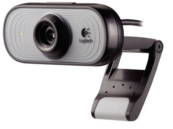 WebCamera Logitech C100, 0.3Mpixel Video 640x480, 1.3Mpixel images, USB 2.0 (без микрофона)