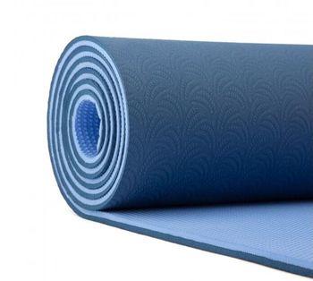 Mat pentru yoga Lotus Pro BLUE -6mm