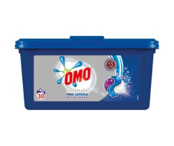купить Omo Ultimate Trio Capsule Active Clean, 30 шт. в Кишинёве