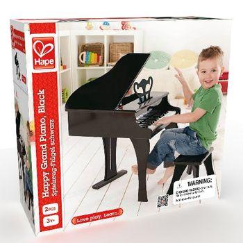 купить Hape Черное Фортепиано со стульчиком в Кишинёве
