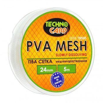 PVA сетка медленно растворимая 24мм, 5м.