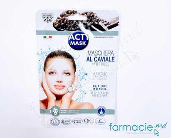 купить Acty Mask Cryo Masca Nutritiva cu extract de  Caviar negru , Q 10 si Acid Hyaluronic N1(165758) в Кишинёве