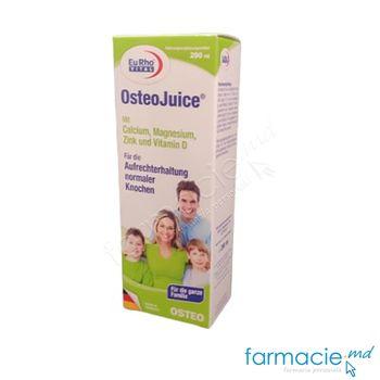cumpără OsteoJuice + Ca + Mg + Zn + Vitamina D sirop 200ml EuRho Vital în Chișinău