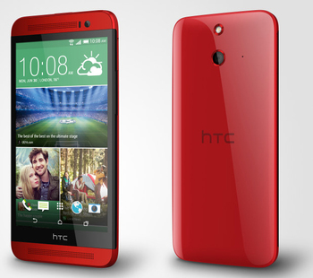 HTC One E8 Dual Red