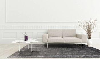 купить Ковёр ручной работы LOUIS DE POORTERE Fading World Grey Neutral 8639 в Кишинёве
