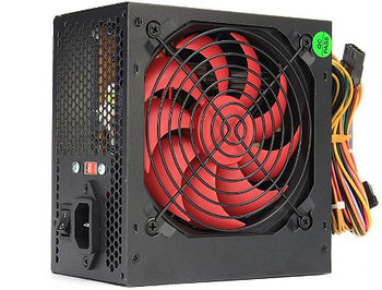 Sursa de alimentare 650W ATX Power supply HPC ATX-650W, 650W, 24 pin, 8 pin(4+4), 2x 8pin(6+2). 4xSATA cables, 120mm Red FAN, Black (sursa de alimentare/блок питания)