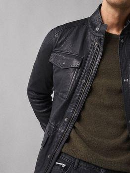 Куртка Massimo Dutti Чёрный massimo dutti 3327/424