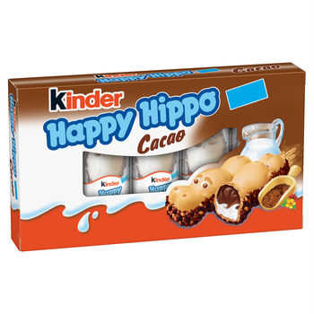 купить Kinder Happy Hippo Cacao, 5 шт. в Кишинёве