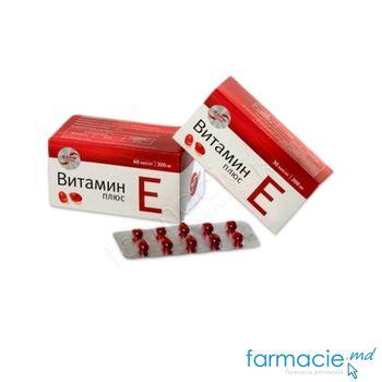 купить Vitamina E Plus caps.350mg N30 (Rusia) в Кишинёве