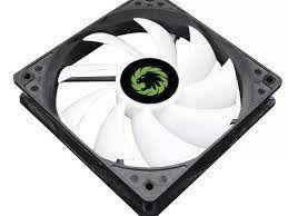 Вентилятор корпуса ПК GAMEMAX GMX-AF12X, 120 мм, 23,7 дБ, 24,8 CFM, 1100PM, подшипник скольжения, RGB, Molex + 3pin