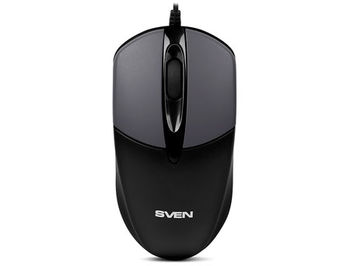 Mouse SVEN RX-112 grey, USB (mouse/мышь)