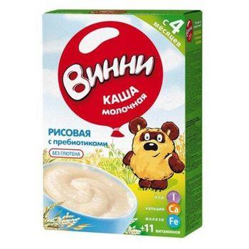 купить Винни каша рисовая молочная, 4+мес. 200г в Кишинёве