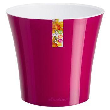"""купить Вазон 0.6 L лиловый - белый  """"ARTE""""  590339 в Кишинёве"""