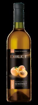 Вино абрикосовое Difruct полусладкое, 0.75 л