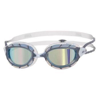 купить Очки для плавания Predator Mirror (Silver/Clear/White) в Кишинёве