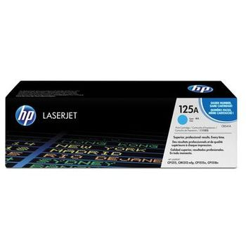 HP Color LaserJet CP1215/1515N/1518Ni Series Printer Cartridge, with ColorSphere Cyan Toner (1400pages)