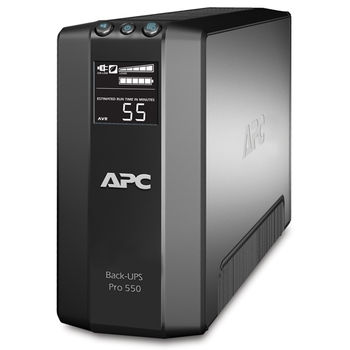 APC BR550GI BACK-UPS RS 550VA LCD 330 Watts,  Master Control, Line Interactive, Automatic Volt Regulation