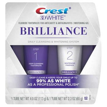 cumpără Crest 3D White Brilliance + Whitening Two-step Toothpaste în Chișinău