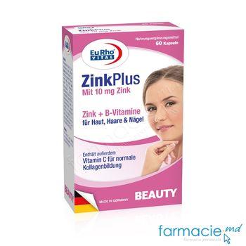 cumpără Zinc 10mg+Vitamina B complex caps. N60 EuRho Vital în Chișinău