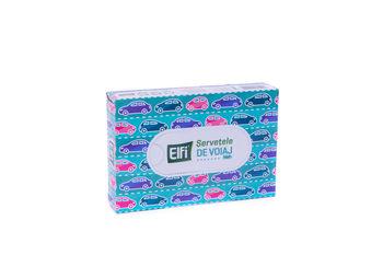 cumpără Serveteli de voiaj cutie ELFI 50buc 3str 21x16.4cm în Chișinău