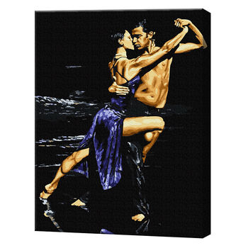 Жгучий танец, 40х50 см, картина по номерам Артукул: GX37869