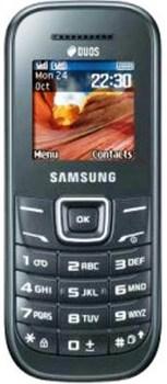 Samsung E1202 Dark Grey 2 SIM (DUOS)