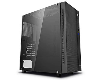Case Middletower Deepcool MATREXX 55 MESH ATX Black no PSU, Side Tempered glass, 1xUSB3.0/2xUSB2.0/AudioHD x 1/Mic x 1 (carcasa/корпус)