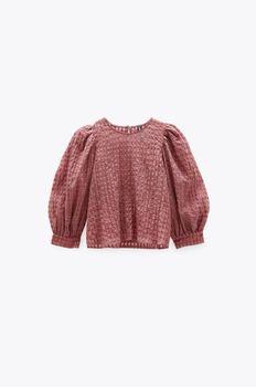 Блуза ZARA Бледно розовый 2063/226/676