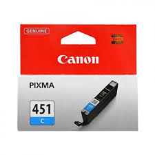купить Ink Cartridge Canon CLI-451C, Cyan в Кишинёве