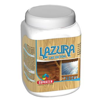 Supraten Лак тонирующий Lazura Бесцветный 0.5кг
