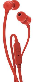 JBL T110 Headset, Red
