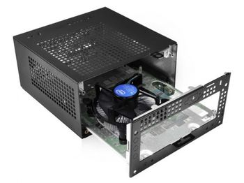 купить Mini PC ASRock DESKMINI A300/B/BB/BOX, AMD AM4 Socket CPU, Black в Кишинёве