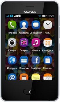 Nokia Asha 501 2 SIM (DUAL) White