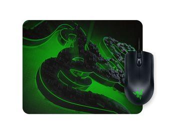 RAZER Mouse Abyssus Lite & Mouse pad Goliathus Mobile Construct Ed. Bundle, Mouse Abyssus Lite, 6400dpi, 3 hyperesponse buttons