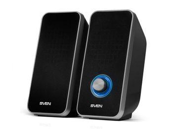 """купить Speakers  SVEN """"325"""" Black, 6w, Power: USB в Кишинёве"""