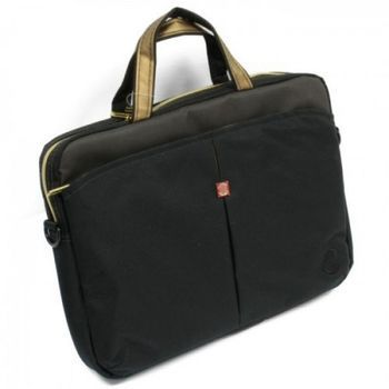 "CONTINENT NB bag 13.3"" - CC-013 Black Caviar, Top Loading"