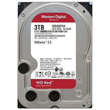 """3.5"""" HDD  3.0TB-SATA-256MB Western Digital """"Red NAS"""