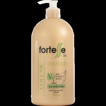 Шампунь для тонких волос, ACME Fortesse PRO, 1000 мл., VOLUME - дополнительный объём